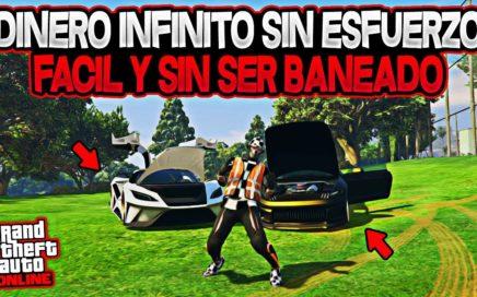 NUEVO! TRUCO DINERO INFINITO MUY FACIL Y SIN SER BANEADO GTA 5 ONLINE 1.43 (PS4/XBOX1/PC)