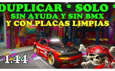 (PARCHADO)NUEVO TRUCO DE GTA 5 ONLINE *DUPLICAR SOLO SIN AYUDA* Y CON PLACAS LIMPIAS PS4 XBOX Y PC