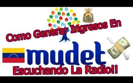 Radio [Mudet] Como Generar Ingresos!!