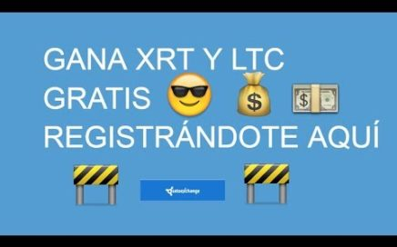 #SatoExchange  REGALA GANA 150 XRT + 0.0001 LTC POR REGISTRARTE ( PAGANDO )