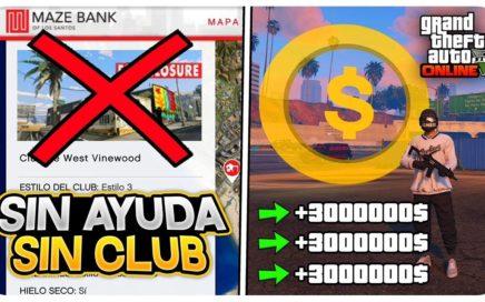 SIN CLUB NOCTURNO! SIN AYUDA +3.000.000$ INCREÍBLE! (DINERO INFINITO 1.44 GTA 5 ONLINE)