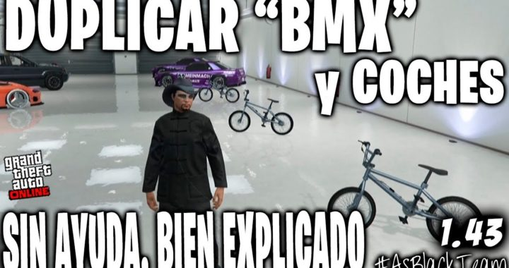 "SOLO - SIN AYUDA - DUPLICAR ""BMX"" y COCHES - GTA 5 - BIEN EXPLICADO - PLACA INVISIBLE - (PS4 - XB1)"