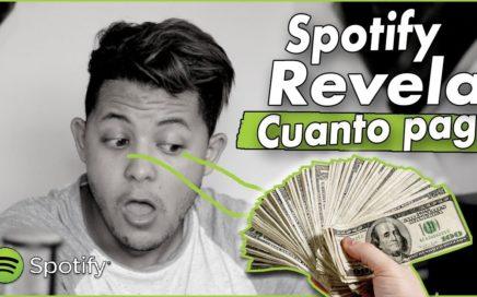Spotify Revela Cuanto Paga A Los Artistas | Como Calcular Cuanto $ Se Gana
