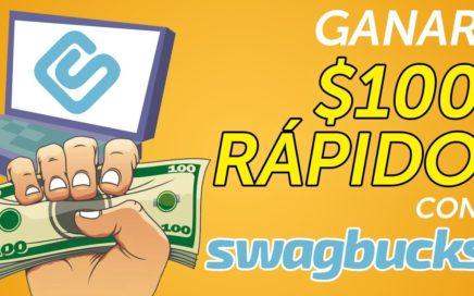 Swagbucks: Qué es y cómo ganar $100 dólares RÁPIDO (Paso a paso)