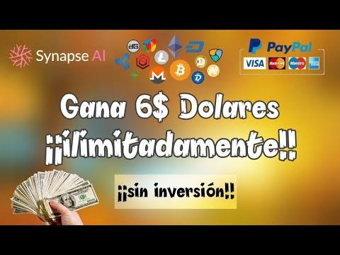 Synapse AI - Gana 6$ Por Referidos Gratis sistema CPA   ¡¡100% Funcionando!!