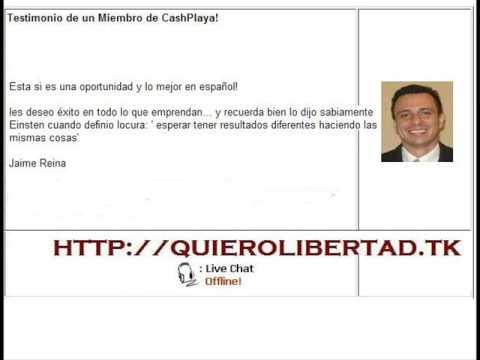 Trabajo en Casa Cash Playa para Ganar Dinero en Internet GRATIS (GARANTIZADO)
