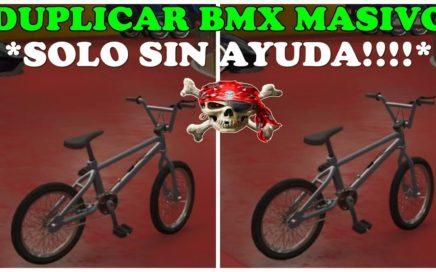 TRUCO GTA 5 GLITCH COMO DUPLICAR BMX MASIVAMENTE SOLO-SIN AYUDA PS4 XBOX