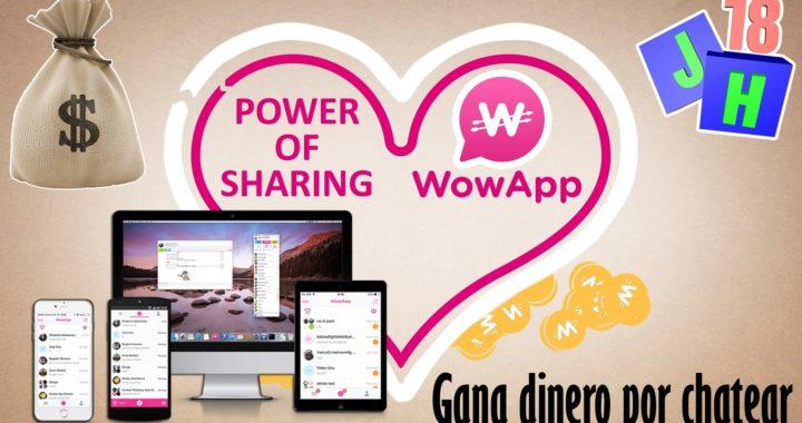 WoWApp   Gana dinero por chatear   APPs GANAR DINERO