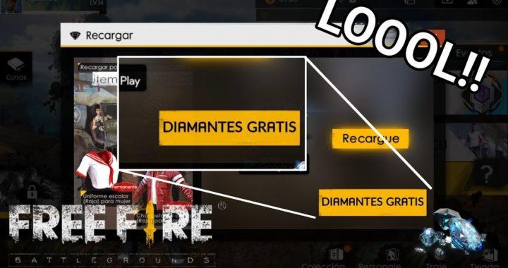 YA SALIÓ LA FORMA DE GANAR DIAMANTES GRATIS EN FREE FIRE!! 100% LEGAL
