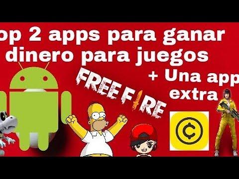 2 app's para ganar dinero en juegos [Free fire]+ app extra