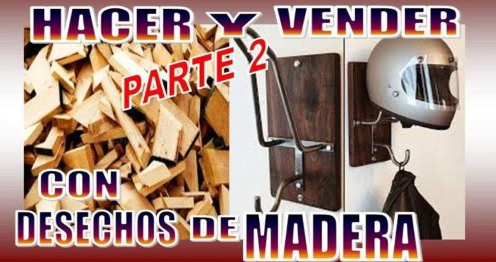25 COSAS CON DESECHOS DE MADERA PARA VENDER ( PARTE 2 )