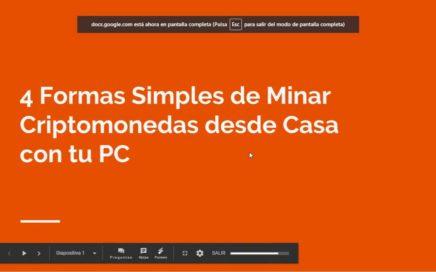 4 Formas Simples de Minar Criptomendas desde Casa con tu PC