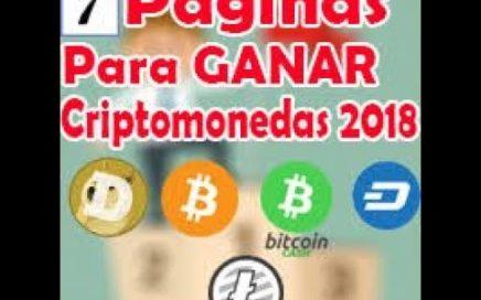 7 PAGINAS PARA GANAR DINERO RAPIDO, GANA 0.01 BITCOIN DIARIO,  GANA CON ESTAS PAGINA