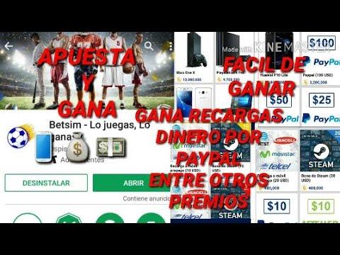 A PUESTA Y GANA| APP PARA GANAR DINERO POR PAYPAL|