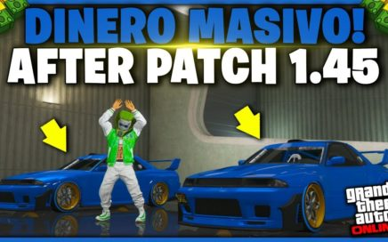 AFTER PATCH! GTA V - TRUCO DINERO INFINITO *MASIVO* GTA 5 ONLINE 1.45 DUPLICAR AUTOS (PS4 Y XBOX)