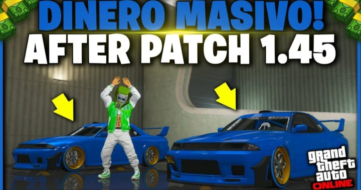 AFTER PATCH! GTA V - TRUCO DINERO INFINITO *MASIVO* GTA 5 ONLINE 1.45 DUPLICAR AUTOS (PS4 Y XBOX)