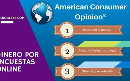 American Consumer Opinion (ACOP)  Dinero con encuestas online