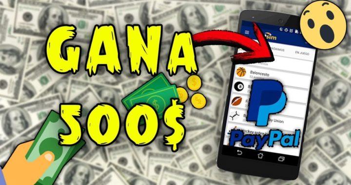 App Para GANAR 500$ en PAYPAL / 2018