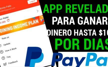 APP REVELADA PARA GANAR DINERO HASTA $ 100 POR DIAS/más dinero para PayPal