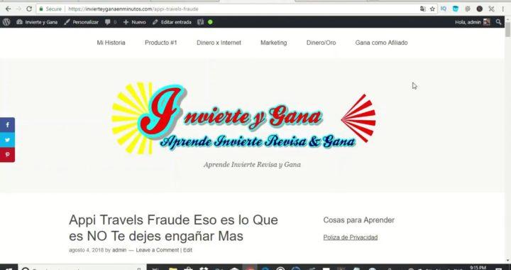 Appi Travels Español es un MEGA FRAUDE Mira esto Antes de Unirte
