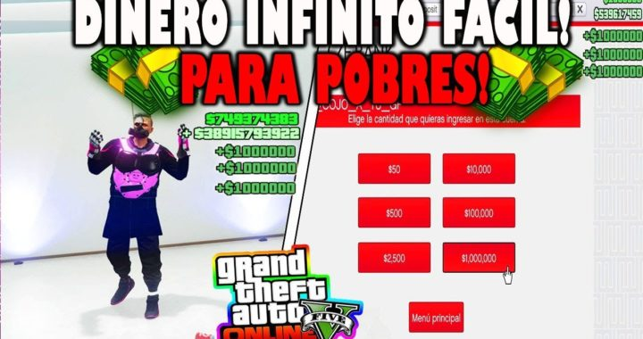 APROVECHA!! *-NUEVO DINERO INFINITO*- SUPER FACIL  EN GTA V ONLINE