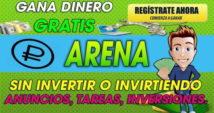 Arena | Gana rublos Gratis con anuncios O invirtiendo en Mineria | 2018 Tutorial Completo