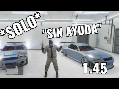 #Asblack Solo Sin Ayuda Gta V Online 1.45 (Gana dinero Facil)