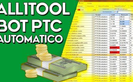 BOT PTC All1Tool - 100 Mejores Paginas PTC en Automático - Ganar Dinero por Internet 2018 (PAGANDO)