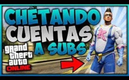 CHETANDO TU CUENTA CAPÌTULO #2 | GTA V ONLINE | + SORTEO DE CUENTA CHETADA DE GTA V !