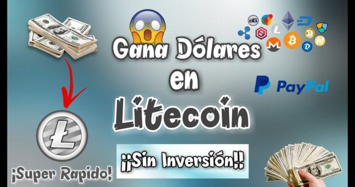 Coinut - Gana Dólares en Litecoin Super Rápido y ¡¡Sin Inversión!!