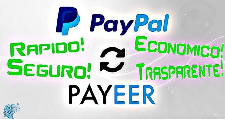 Como Enviar Dinero de PAYPAL A PAYEER 2018 FACIL BARATO Económico FIABLE y RAPIDO
