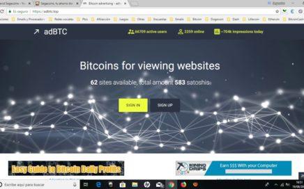 Cómo GANAR BITCOINS GRATIS 2018 | Mejores Páginas FIABLES para ganar Bitcoin 2018