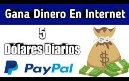 Cómo ganar dinero a paypal | como ganar 5 Dolares por referidos | como ganar dinero