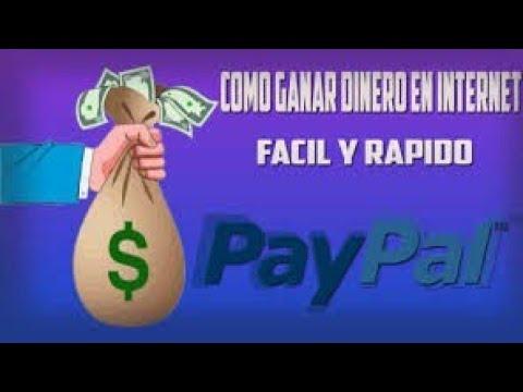 Cómo ganar dinero a paypal | mira este video y sabrás ganar $2.5 dolares con solo Está app