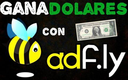 Como ganar $ dinero  con adfly directamente a paypal - payoner