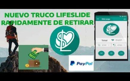 Como ganar dinero con LifeSlide - Nuevo truco para conseguir rápido puntos(Hack)