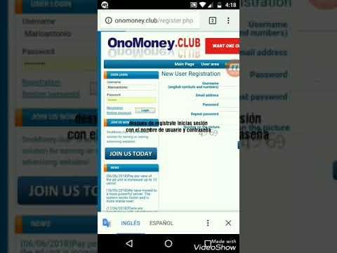 Como ganar dinero desde casa con onomoney ( link en la descripción)
