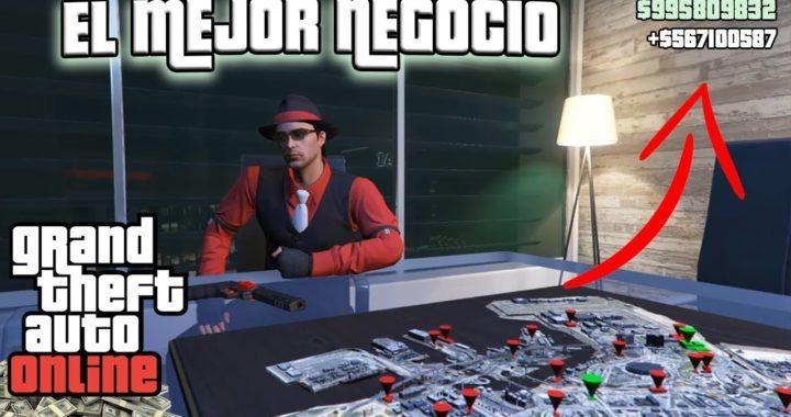 Como GANAR DINERO EN GTA V ONLINE [EL MEJOR NEGOCIO DE GTA V] 2018