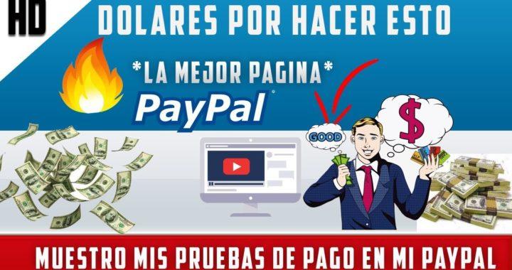 COMO GANAR DINERO EN INTERNET 1200 DOLARES COBRADOS PARA PAYPAL | 12 AGOSTO 2018