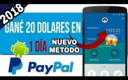 Como Ganar Dinero En Paypal Gratis En Android 2018 Sin tarjeta De Credito Facil |Gana 30 dolares APP
