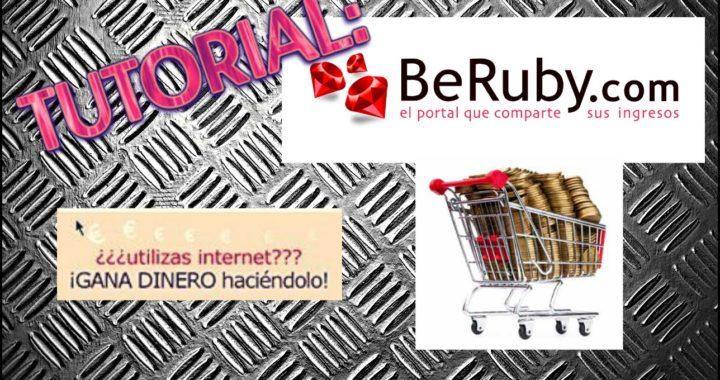 Como ganar dinero en tus compras online con BeRuby (BeRuby.com) by Ivalice27