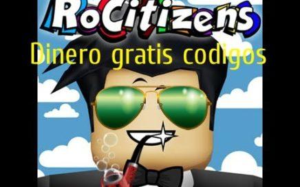 Como ganar dinero facil RoCitizens [Roblox]  [CODIGOS]