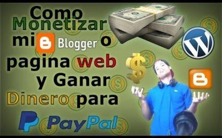Como Ganar Dinero Facil Y Sencillo | Por Paginas Web | 2017 | ANT-H YT