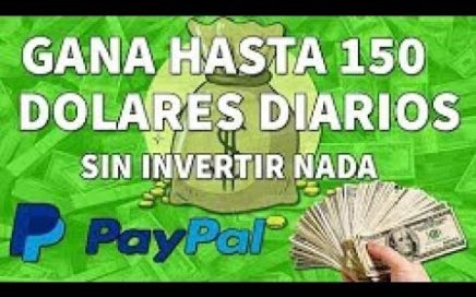 COMO GANAR DINERO PARA TU CUENTA DE PAYPAL  2018  SIN HACER NADA [FACIL Y RAPIDO] NO FAKE