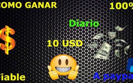 COMO GANAR DINERO POR INTERNET 10 $ DIARIOS 2018-2019