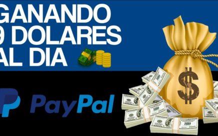 COMO GANAR DINERO POR INTERNET 2018 | $9 DOLARES AL DIA (VIDEO REAL)