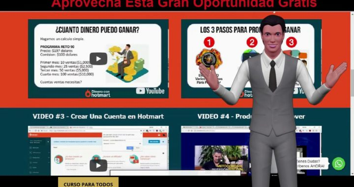Como ganar dinero rapido por internet curso gratis de hotmart