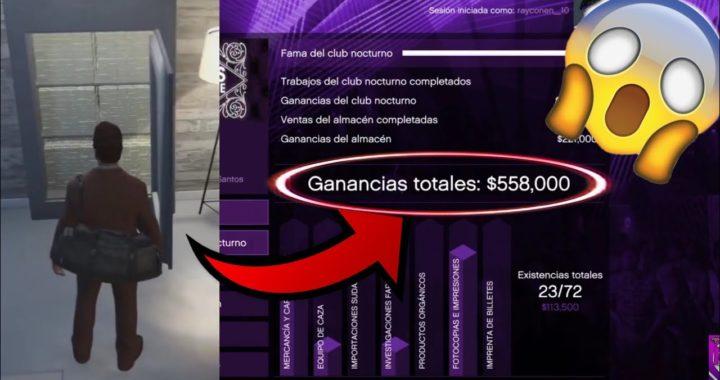 Como Ganar El Máximo Dinero En El Club Nocturno De Gta 5 Online