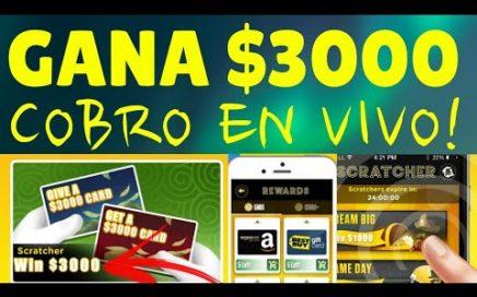 Como Ganar más de $3000 Gratis Jugando con esta App de Lucky Day + Cobrando en directo!