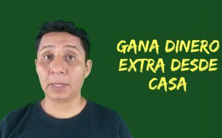 Cómo puedes tener un ingreso extra en internet | dinero extra desde casa